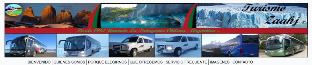 パタゴニアで運行するバス会社 Turismo Zaahj