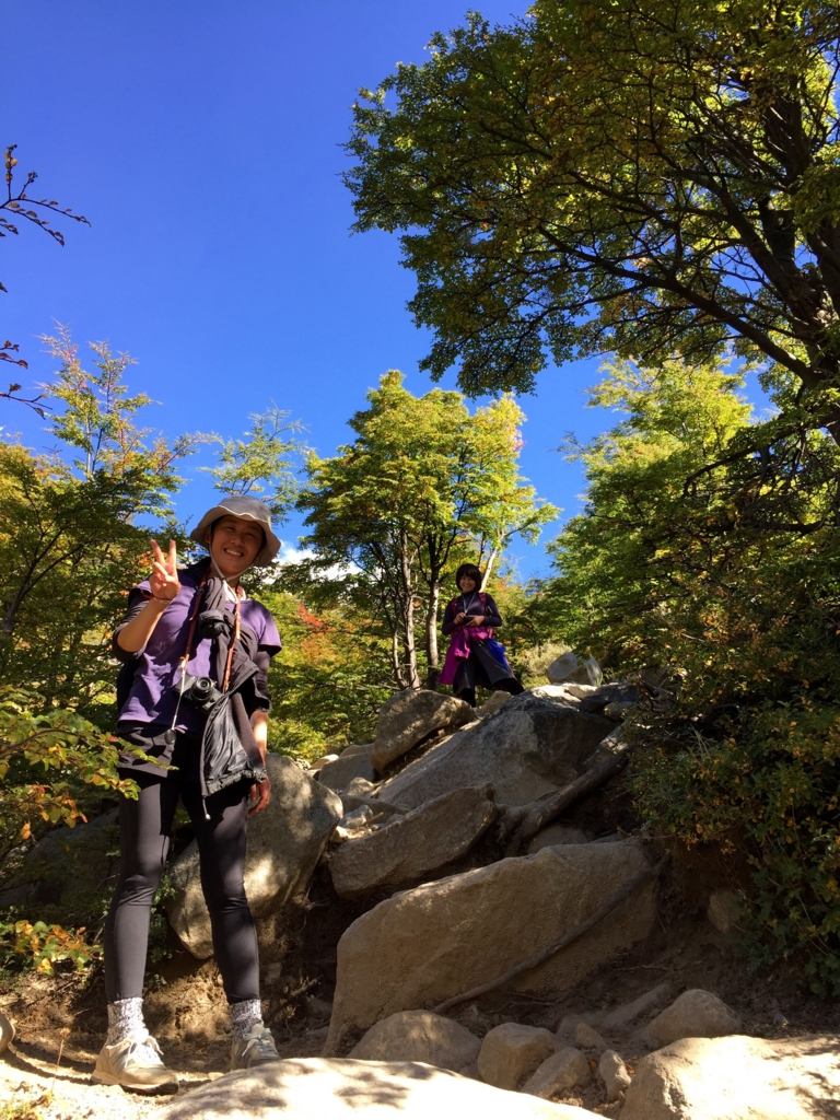 パイネ国立公園は徐々に高度が上がります