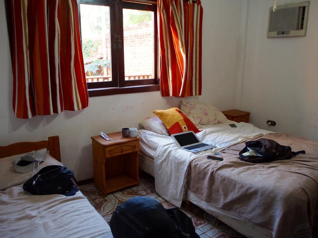 僕たちが宿泊した広々ツインルーム