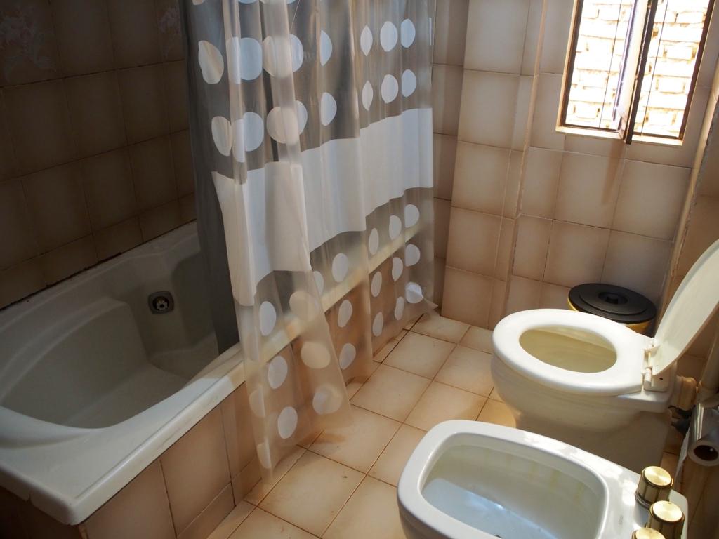 シャワーとトイレの様子