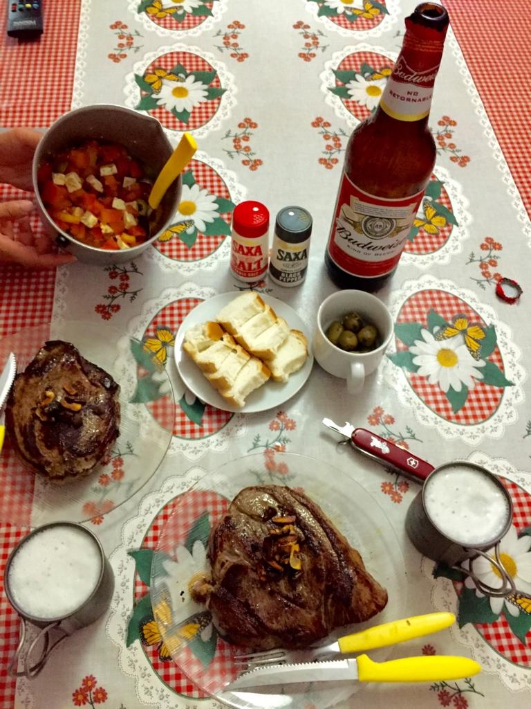 アルゼンチンの締めくくりはやっぱりステーキで