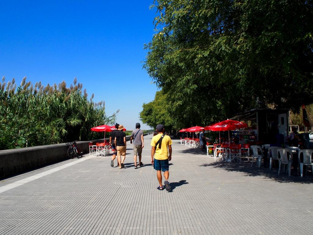 ブエノスアイレス チョリパンストリート