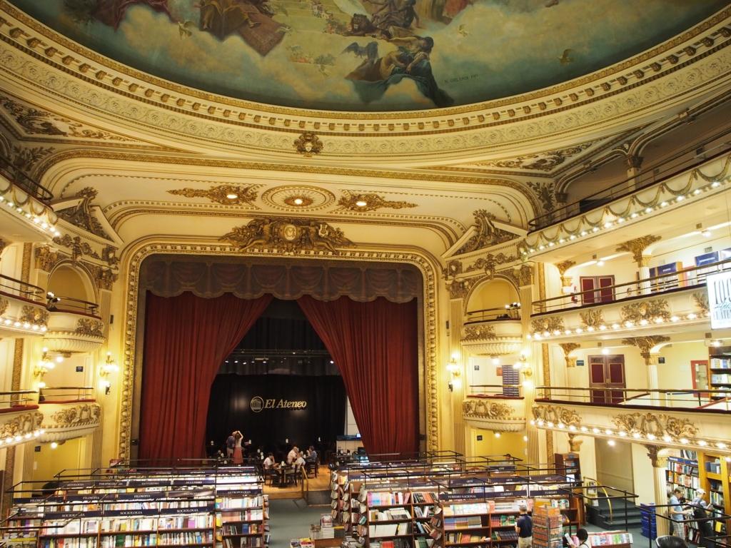 ブエノスアイレス 観光情報 世界で二番目に美しい本屋さん