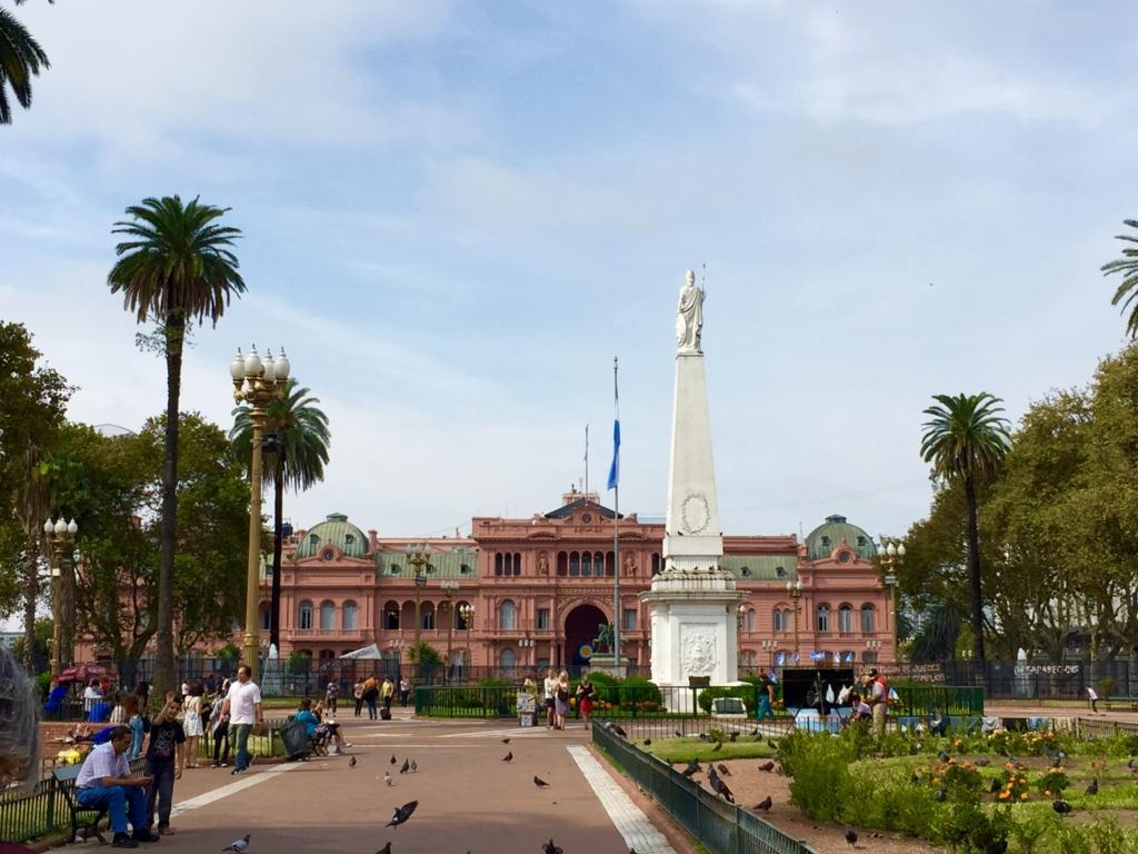 ブエノスアイレスのセントロ Plaza de Mayo