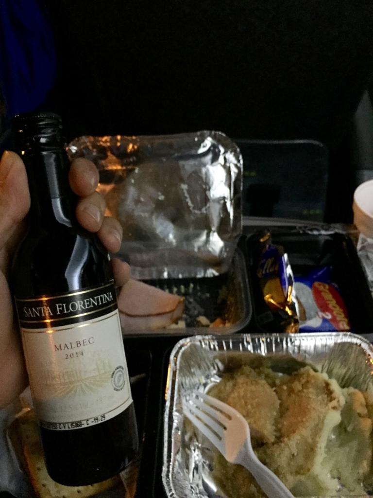 Via Barilocheの夕食の様子(ワイン付き)