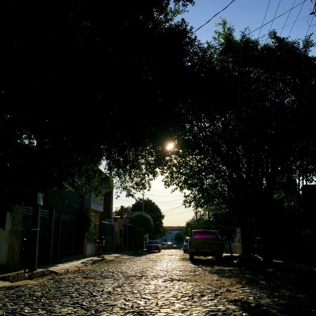 パラグアイ アスンシオンの路地裏