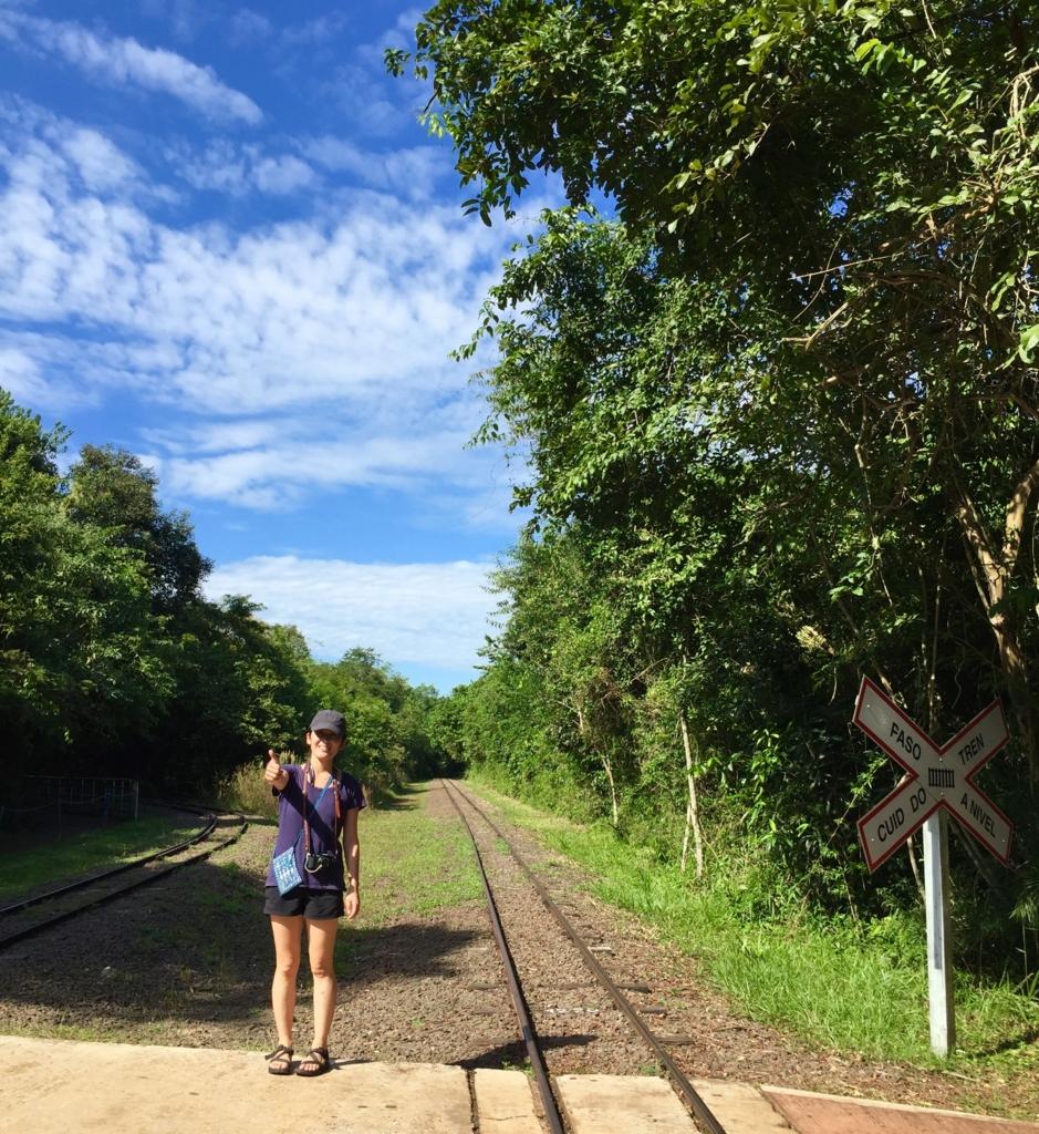 イグアス国立公園はとても広い