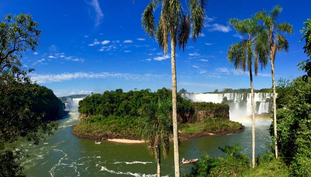 イグアスの滝 世界三大瀑布