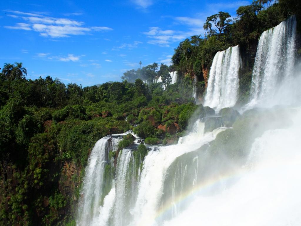 イグアスの滝は大自然の中にあるオアシス