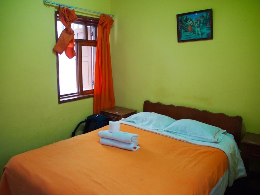 ペルー クスコの宿の客室