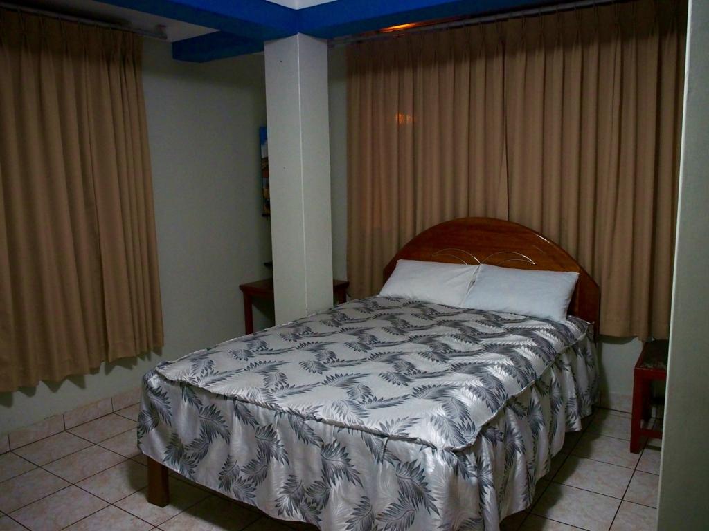 アグアスカリエンテス(マチュピチュ村)の宿の客室
