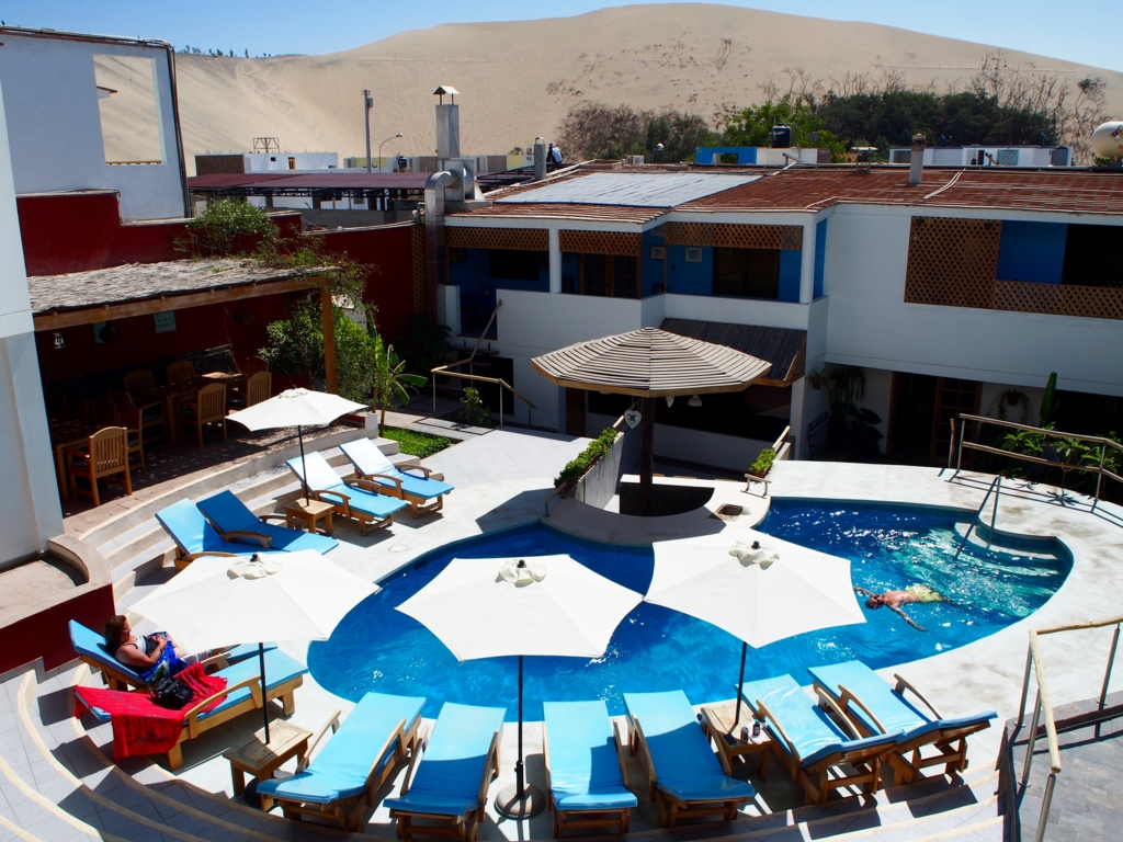 ペルー イカ ワカチナの素敵な宿