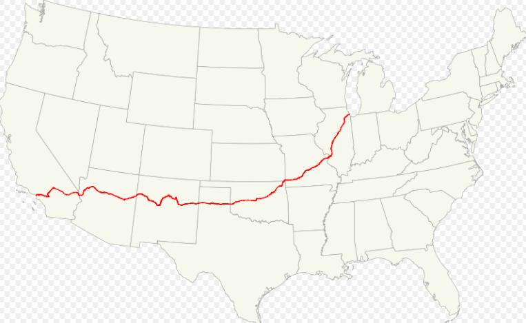 route66 ルート66の地図