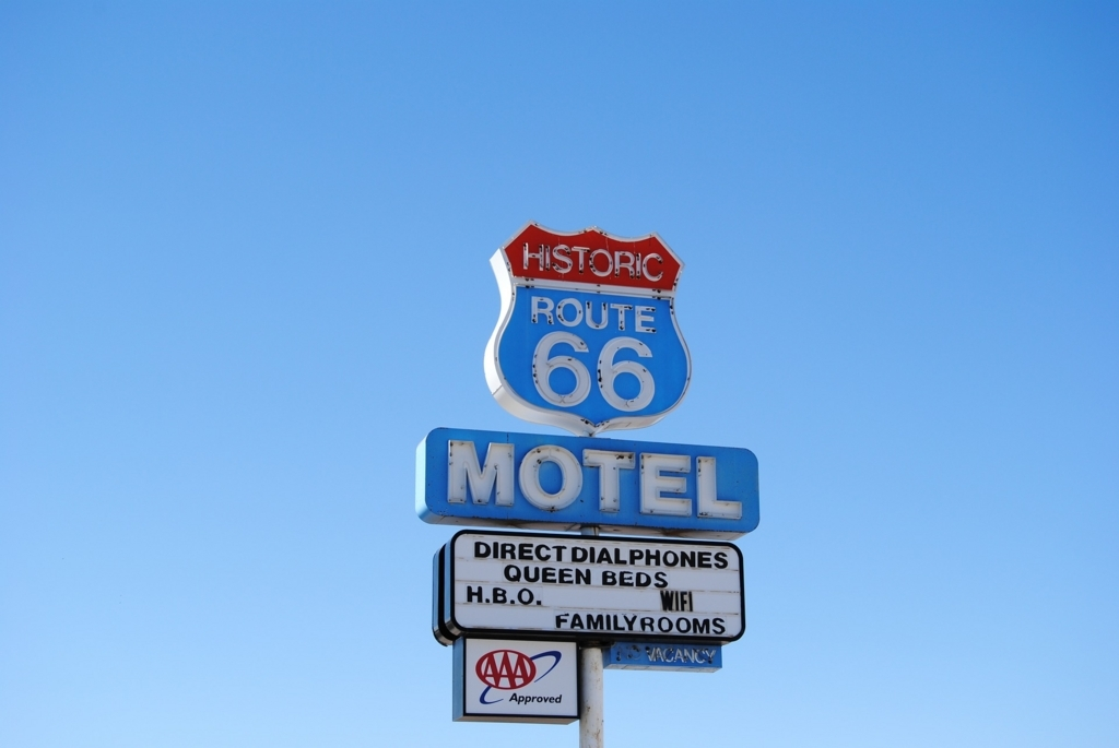 route66 ルート66 hostel アメリカ