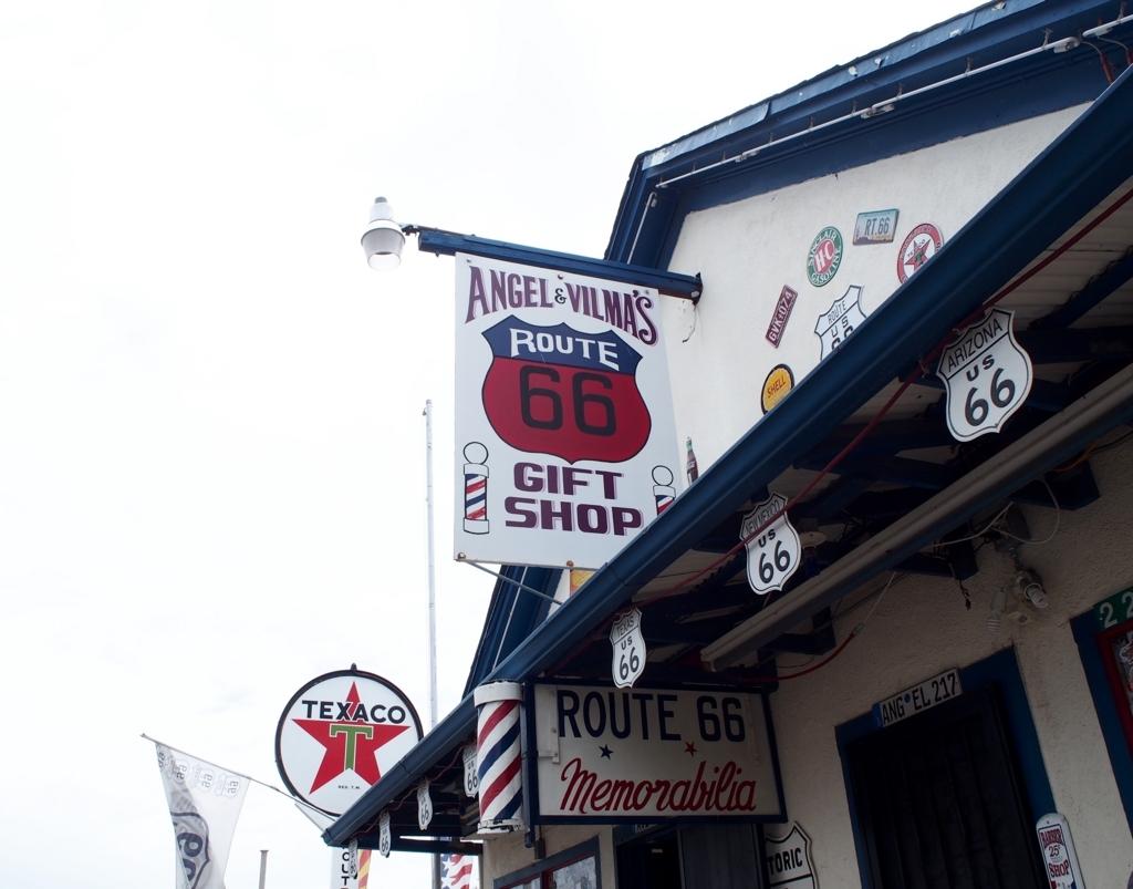 ルート66 セリグマン アメリカの田舎町 床屋
