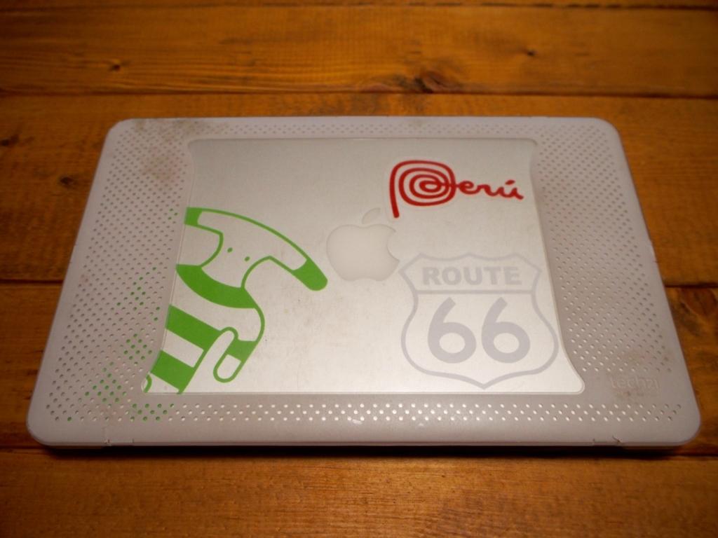 ルート66 ステッカー macbook ヤマナ族 ペルーマーク