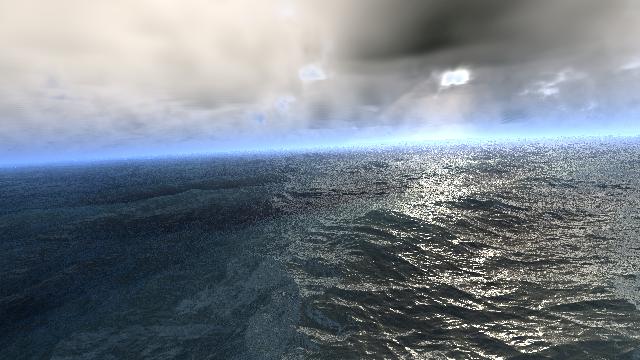 fBMを用いた海の表現