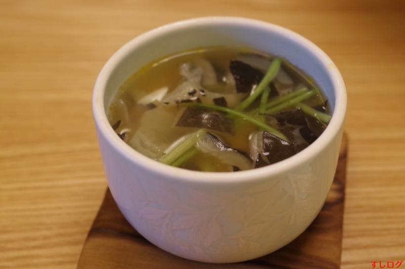 スッポン出汁の茶碗蒸し