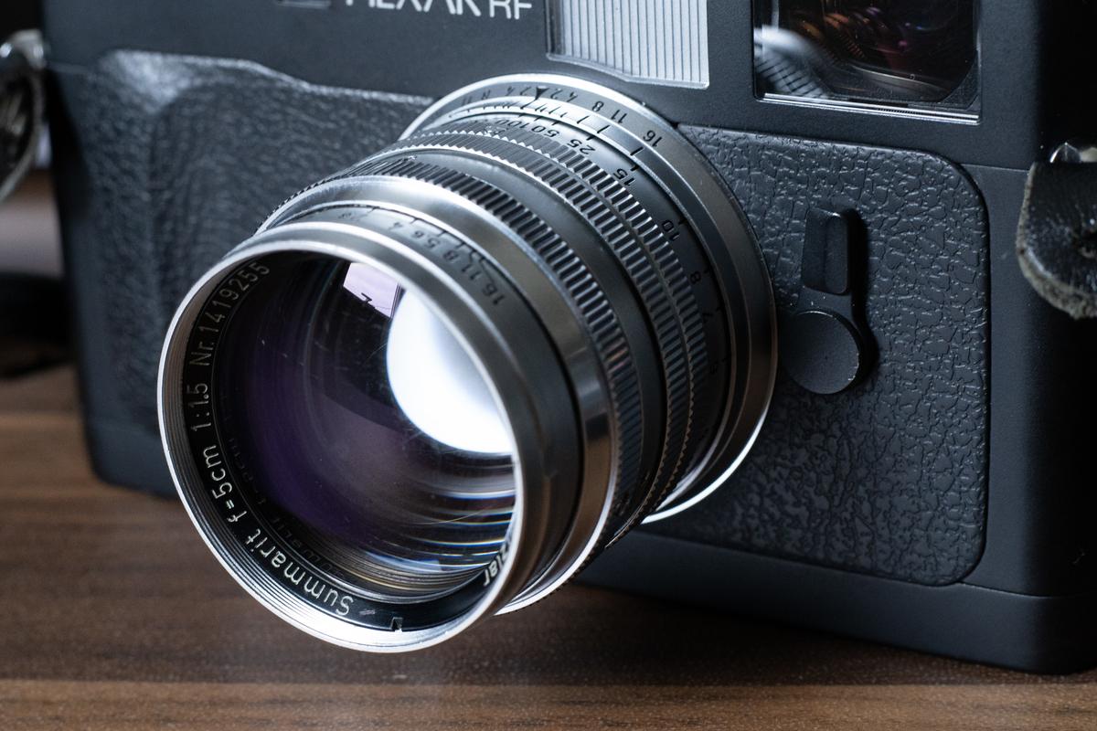 【おすすめオールドレンズ】Summarit 50mm/f1.5