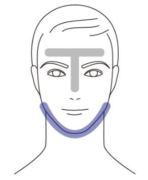 顔の部位ごとの特徴の説明