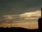 201509 夕焼け高圧電線