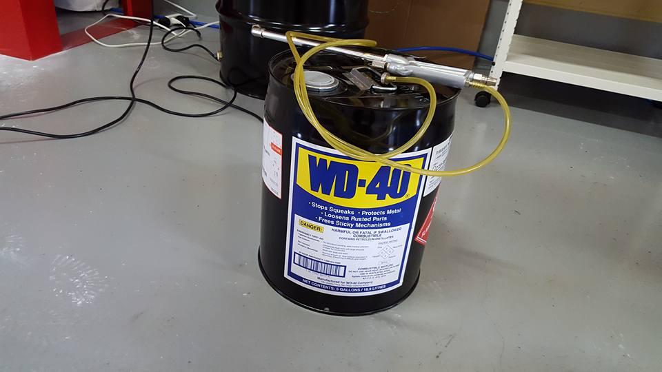 RB26エンジンオーバーホール_WD-40