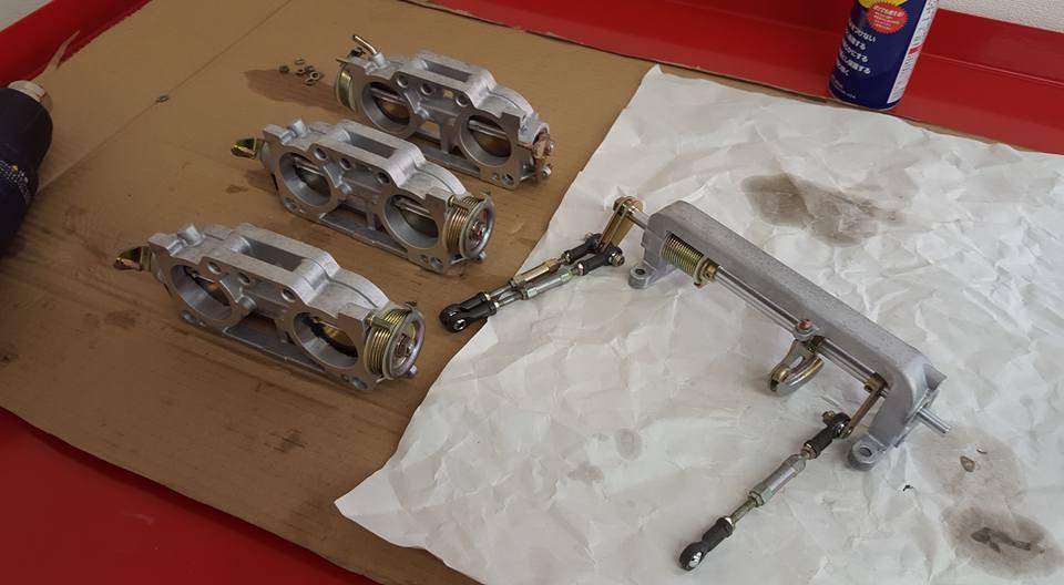 RB26エンジンオーバーホール_洗浄作業