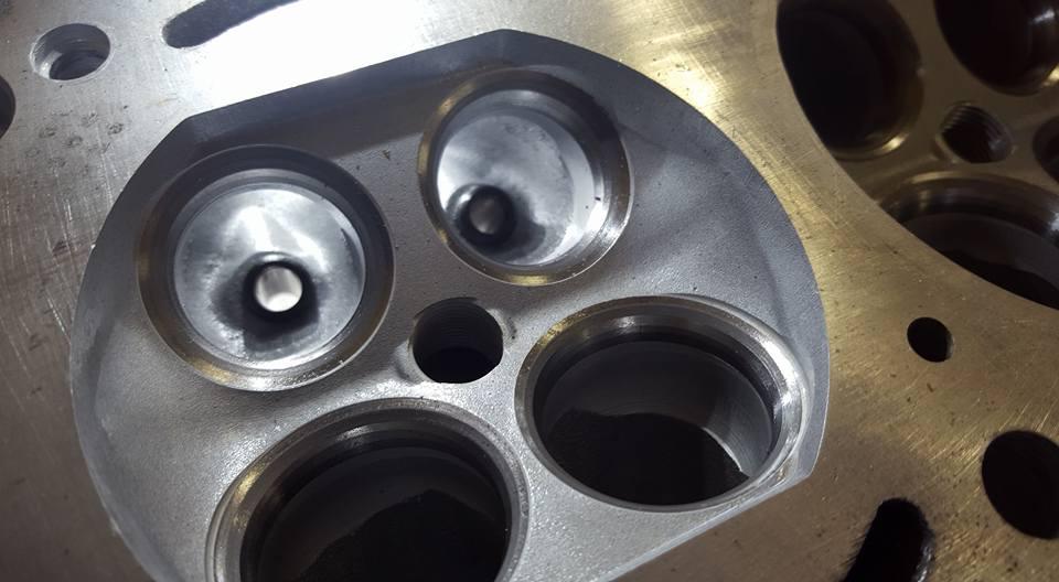 RB26エンジンオーバーホール_段付き修正