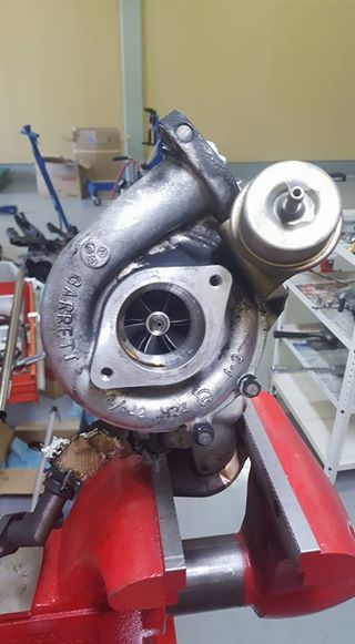 RB26,エンジンオーバーホール,タービン点検