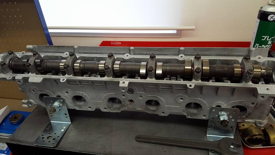 RB26エンジンオーバーホール_タペットクリアランスの調整