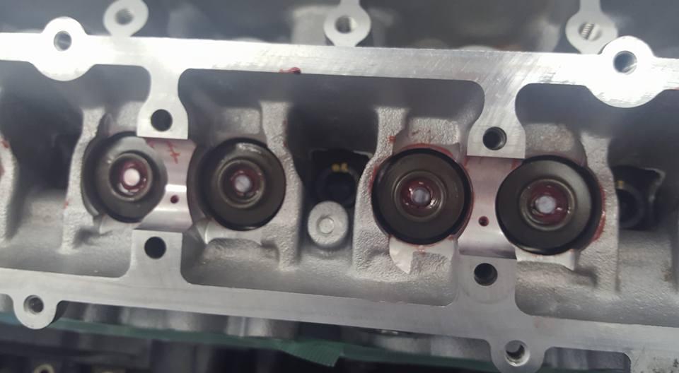 RB26エンジンオーバーホール_ヘッドボルトの締め付け