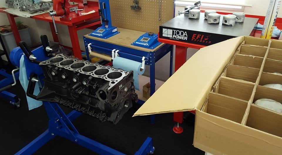 RB26,エンジンオーバーホール,ピストン選別