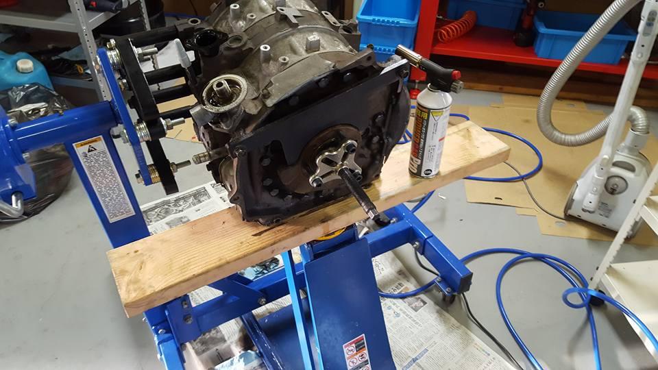 13Bエンジンのバラシ2