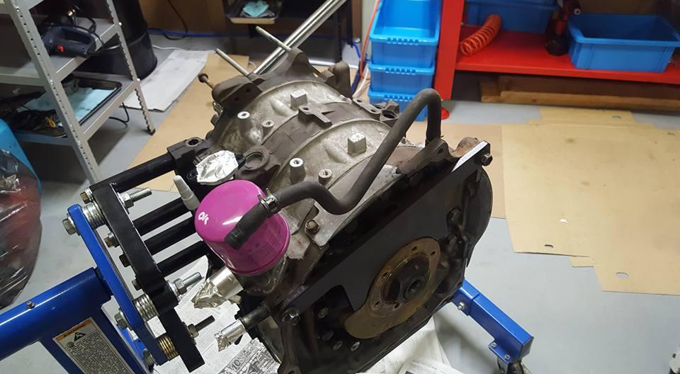 13Bエンジンのバラシ3