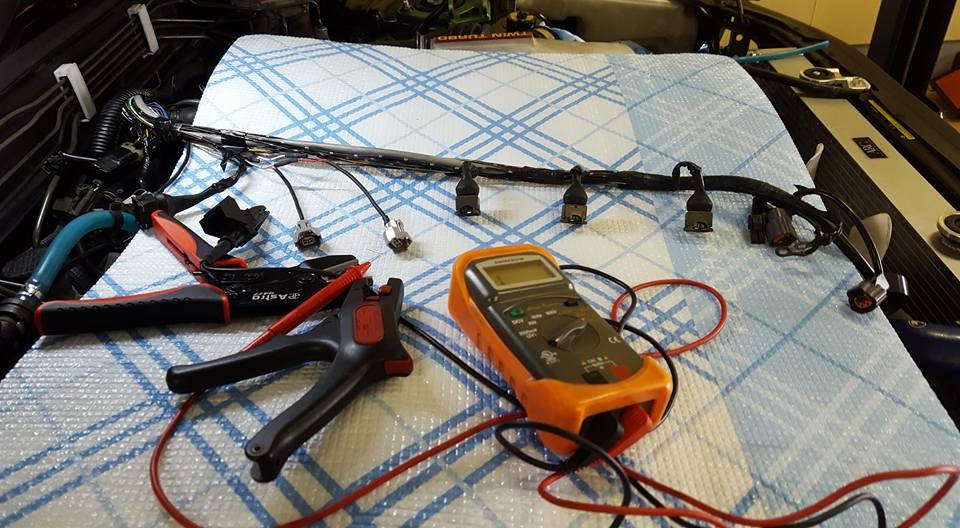 RB26社外インジェクター交換1