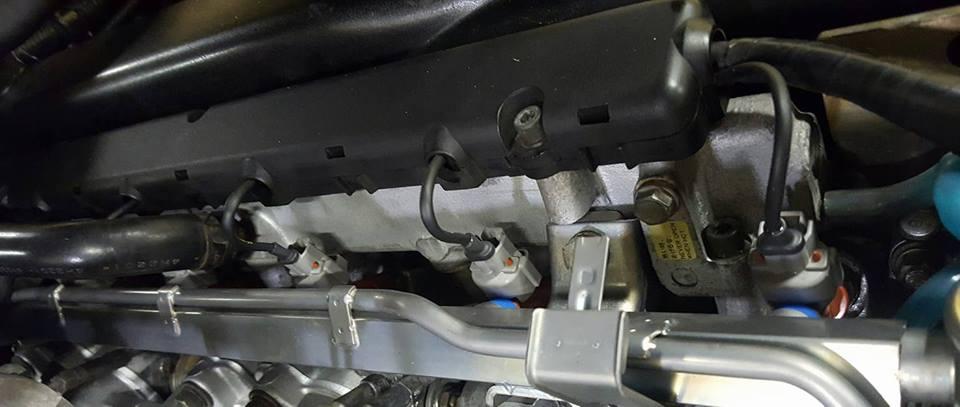 RB26社外インジェクター交換2