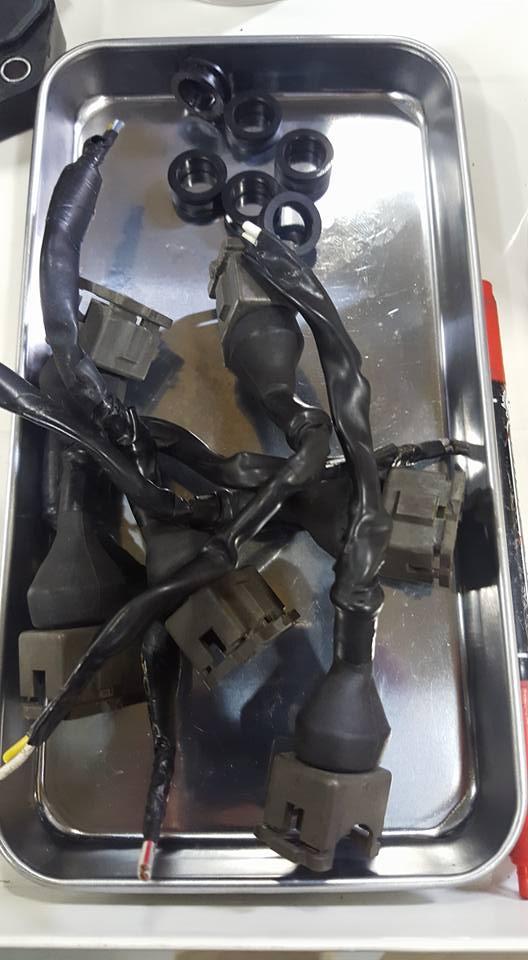 RB26社外インジェクター交換3