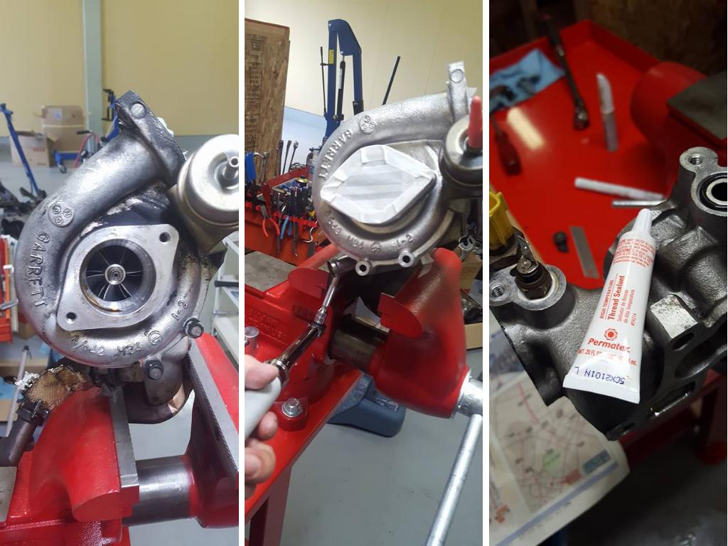 RB26エンジンオーバーホール_タービン点検