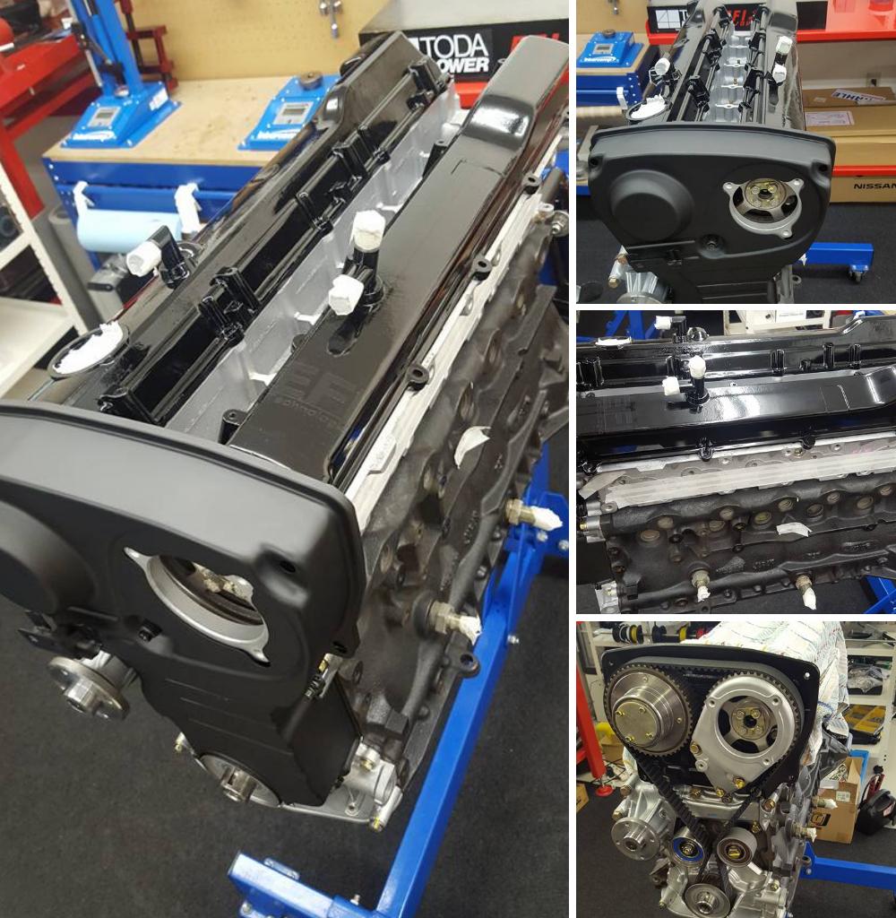 RB25コンプリートエンジン