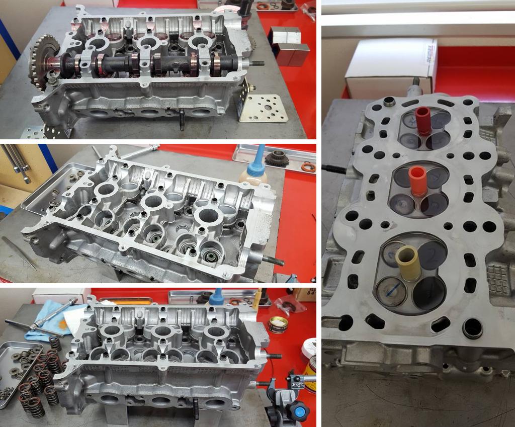 K6Aエンジンヘッド