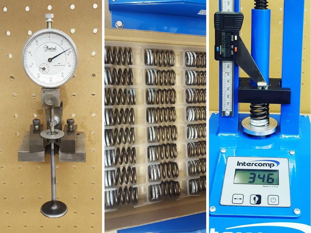 RB26エンジン_スプリングとコッター位置の測定1