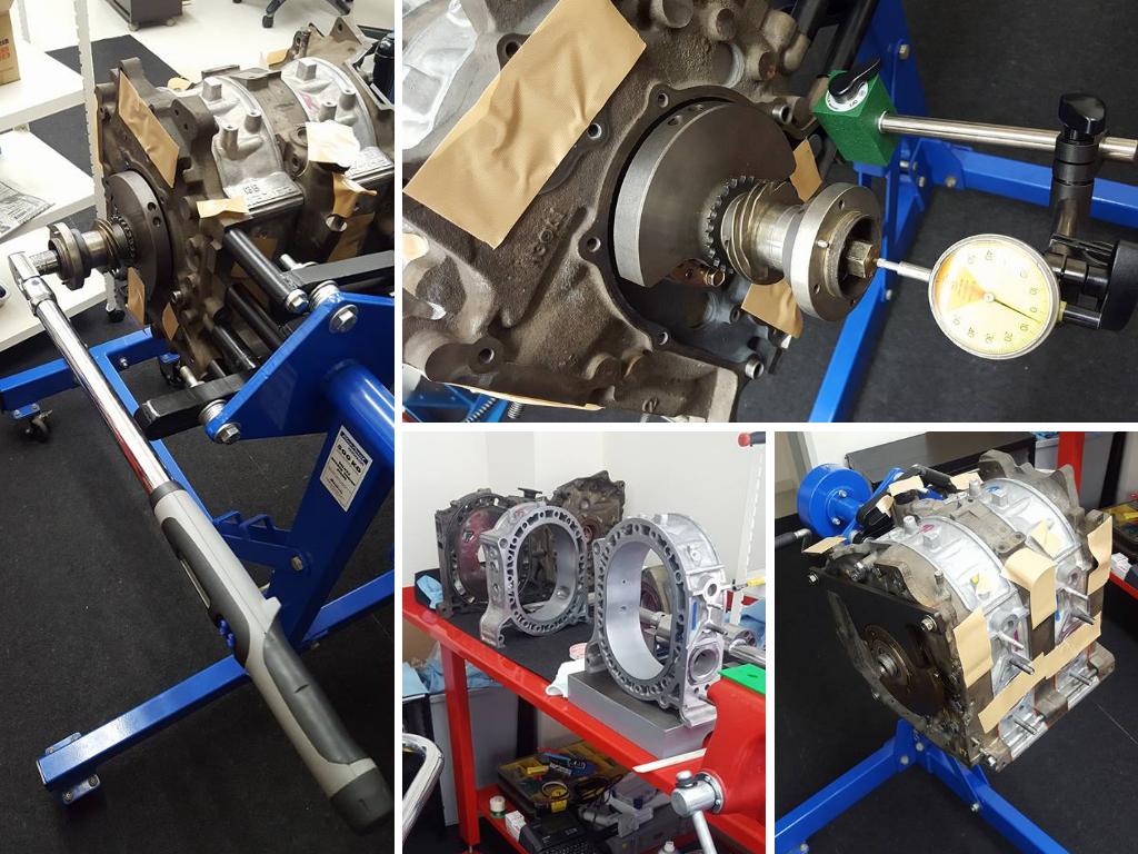13Bロータリーエンジン組み付けまとめ