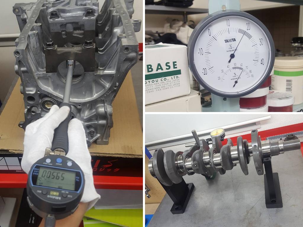 B16エンジン部品の計測1