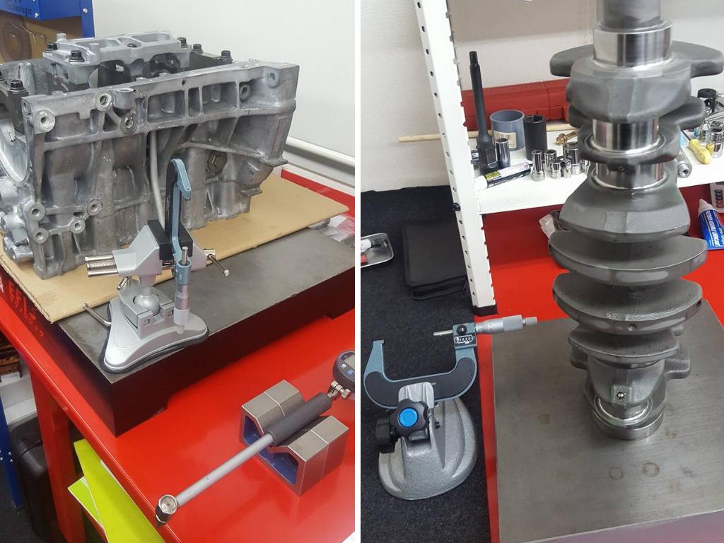 B16エンジン部品の計測2