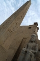ルクソール神殿のオベリスクと…ダレダッケ