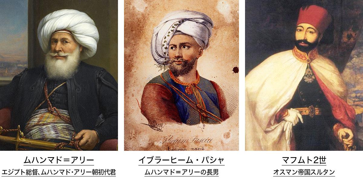 ムハンマド=アリー/イブラーヒーム・パシャ/マフスト2世