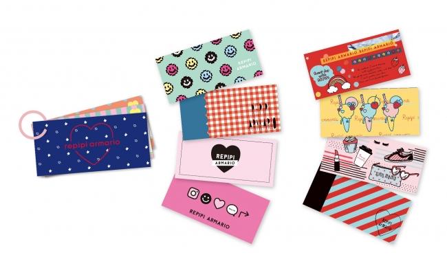 「表紙カード」でおしゃれにカスタム単語帳がさらにかわいくなる「表紙カード」「裏表紙カード」付
