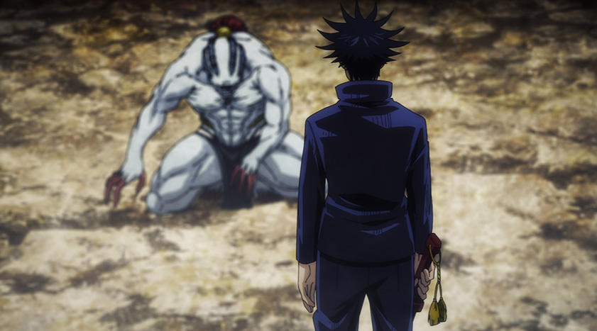 呪術廻戦アニメ23話特級呪霊
