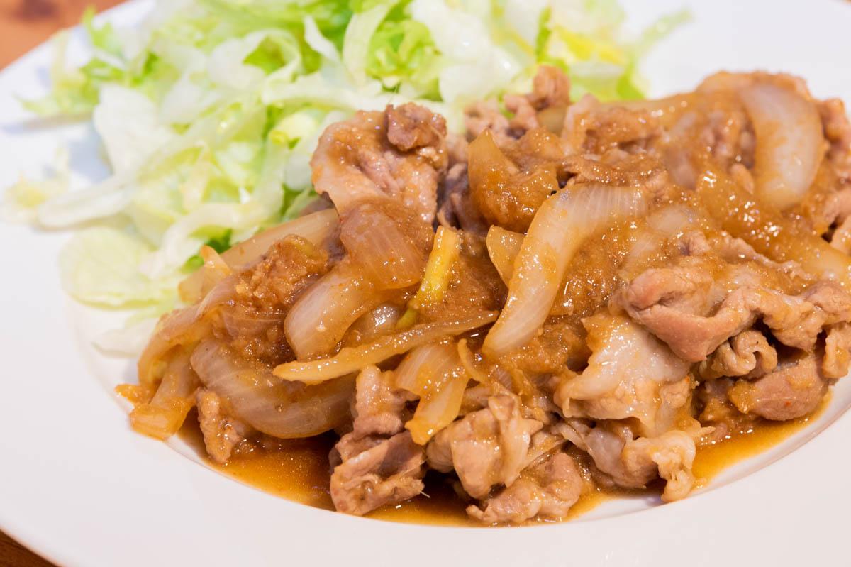 生姜焼き 豚肉 生姜 豚の生姜焼き