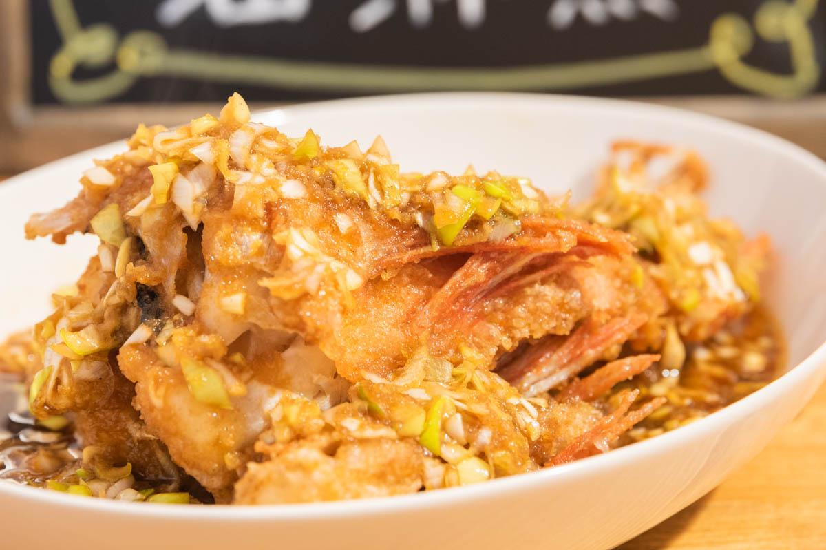 油淋魚 カサゴ 魚の唐揚げ ユメカサゴ